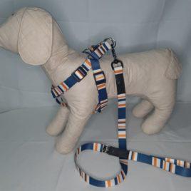 Peitoral  para Cães de Grande porte Fita Poliester de 25mm  G 50 x 80 cm  cod31