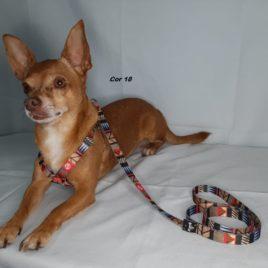 Peitoral para cães de pequeno porte  Fita Poliester de 15mm    cod P18